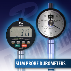 Slim Probe Durometers