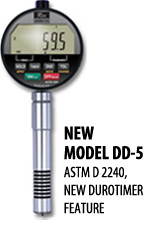 New Model DD-5 ASTM D 2240, New Durometer Feature